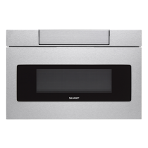 Sharp 24 IN. 1.2 CU. FT. 1000W Stainless  Steel Microwave Drawer Oven