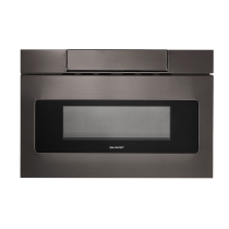 Sharp 24 IN. 1.2 CU. FT. 1000W Black Stainless Steel Microwave Drawer Oven