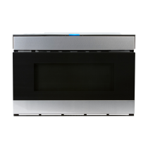 Sharp 24 In. 1.2 CU. FT. 950W Stainless Steel Easy Wave Open Microwave Drawer Oven