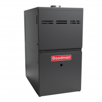 Goodman 80% AFUE Performace Two-Stage Gas Furnace Energy-Efficient, Variable-Speed ECM Motor Integrated communicating ComfortBridge™ technology