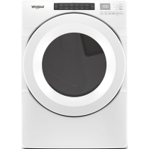 Whirlpool 7.4 cu. ft. Front Load Electric Dryer with Intuitive Touch Controls WED5620HW