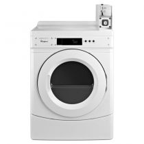 """Whirlpool® 27"""" Commercial Electric Front-Load Dryer Featuring Factory-Installed Coin Drop with Coin Box"""
