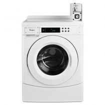 """Whirlpool® 27"""" Commercial High-Efficiency Energy Star-Qualified Front-Load Washer Featuring Factory-Installed Coin Drop with Coin Box"""