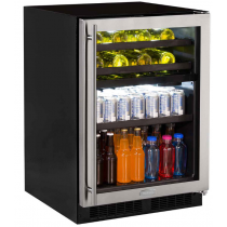 """Marvel 24"""" Dual Zone Wine and Beverage Center"""