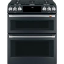 """Café™ 30"""" Slide-In Front Control Gas Double Oven with Convection Range"""