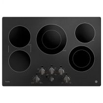 """GE Profile™ Series 30"""" Built-In Knob Control Electric Cooktop PP7030BMTS"""