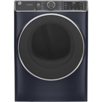 GE® 7.8 cu. ft. Capacity Smart Front Load Gas Dryer with Steam and Sanitize Cycle GFD85GSPNRS