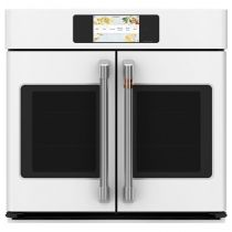 """Cafe Professional Series 30"""" Smart Built-In Convection French-Door Single Wall Oven CTS90FP4NW2"""