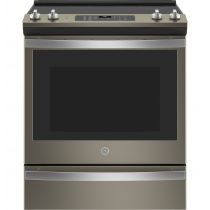 """GE® 30"""" Slide-In Electric Convection Range With No Preheat Air Fry JS760EPES"""