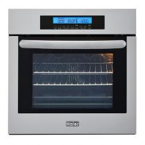 """Haier 24"""" Single 2.0-Cu.-Ft. Right-Swing True European Convection Oven"""