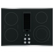 """GE Profile 30"""" Downdraft Electric Cooktop PP9830SJSS"""