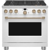 """Café 36"""" Smart All-Gas Professional Range with 6 Burners (Natural Gas) CGY366P3TD1"""