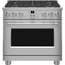 """Café 36"""" Smart All-Gas Professional Range with 6 Burners (Natural Gas) CGY366P2TS1"""