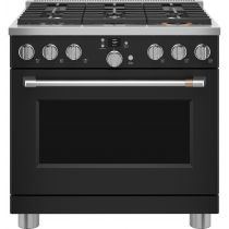 "Café™ 36"" Smart Dual-Fuel Commercial-Style Range with 6 Burners (Natural Gas) C2Y366P3TD1"