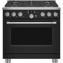 "Café™ 36"" Smart Dual-Fuel Commercial-Style Range with 6 Burners (Natural Gas) C2Y366P3TD1"