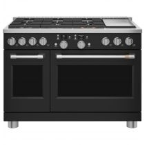 "Café™ 48"" Smart Dual-Fuel Commercial-Style Range with 6 Burners and Griddle (Natural Gas) C2Y486P3TD1"