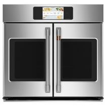 """Cafe Professional Series 30"""" Smart Built-In Convection French-Door Single Wall Oven"""
