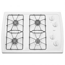 Whirlpool® 30-inch Gas Cooktop with 5,000 BTU AccuSimmer® Burner