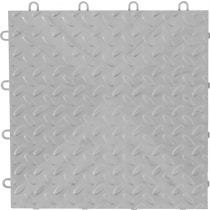 Gladiator® Silver Tile Flooring (4-Pack)