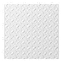 Gladiator® White Tile Flooring (24-Pack)