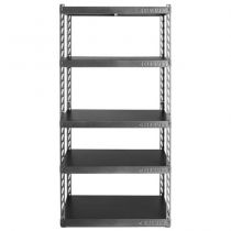"""Gladiator® 36"""" Wide EZ Connect Rack with Five 18"""" Deep Shelves"""