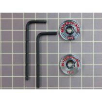 KitchenAid® Handle Medallions - Chrome