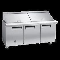 Kelvinator 18 cu. ft. Mega Top Prep Table KCMT70.30