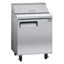 Kelvinator 6 cu. ft. Sandwich/Salad Prep Table KCST27.8
