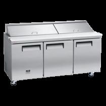 Kelvinator 18 cu. ft. Sandwich/Salad Prep Table KCST70.18