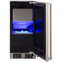 "Marvel Professional 15"" Clear Ice Machine with Sapphire Illuminice™ and Factory Installed Pump"