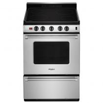 Whirlpool® 24-inch Freestanding Electric Range with Upswept SpillGuard™ Cooktop