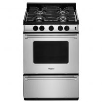 Whirlpool® 24-inch Freestanding Gas Range with Sealed Burners