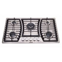 Unique 36″ Gas Cooktop (Dual ignition, electrical/battery) UGP-36 CT1