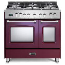 "Verona 36"" Prestige Dual Fuel Double Oven Range VPFSGE365DBU"