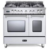 """Verona 36"""" Prestige Dual Fuel Double Oven Range VPFSGE365DW"""
