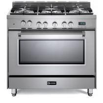 "Verona 36"" Dual Fuel Single Oven Range - Prestige Series VPFSGE365SS"