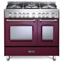 "Verona 36"" Gas Double Oven Range - Prestige Series VPFSGG365DBU"