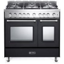 """Verona 36"""" Gas Double Oven Range - Prestige Series VPFSGG365DE"""