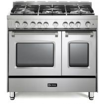 "Verona 36"" Gas Double Oven Range - Prestige Series VPFSGG365DSS"