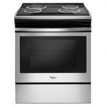 Whirlpool 4.8 cu. ft. Coil Electric Range with Guided Cooktop Controls
