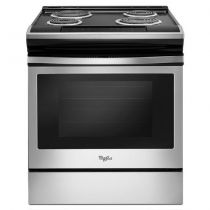 Whirlpool® 4.8 cu. ft. Guided Electric Front Control Coil Range