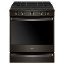 Whirlpool® 5.8 Cu. Ft. Smart Slide-in Gas Range with EZ-2-Lift™ Hinged Cast-iron Grates