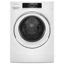 """Whirlpool 2.3 cu. ft. 24"""" Compact Washer with Detergent Dosing Aid option WFW5090JW"""